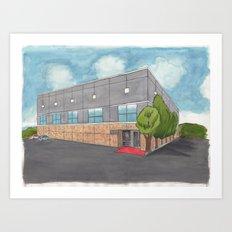 Dunder Mifflin Scranton Business Park Art Print