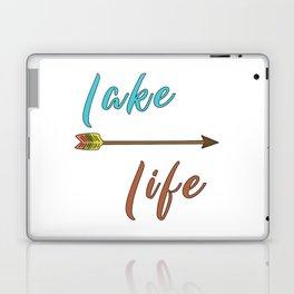 Lake Life - Summer Camp Camping Holiday Vacation Gift Laptop & iPad Skin