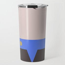 Ezri Dax Minimalist Star Trek DS9 Deep Space Nine - Lieutenant  - startrek - Trektangles Travel Mug