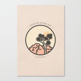 Icons: Joshua Tree One Canvas Print