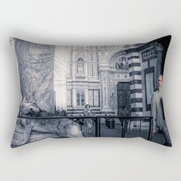 Bourgeoisie and Liberty Rectangular Pillow