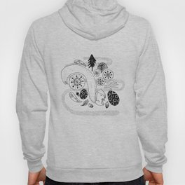 Squirrel in the forest Hoody