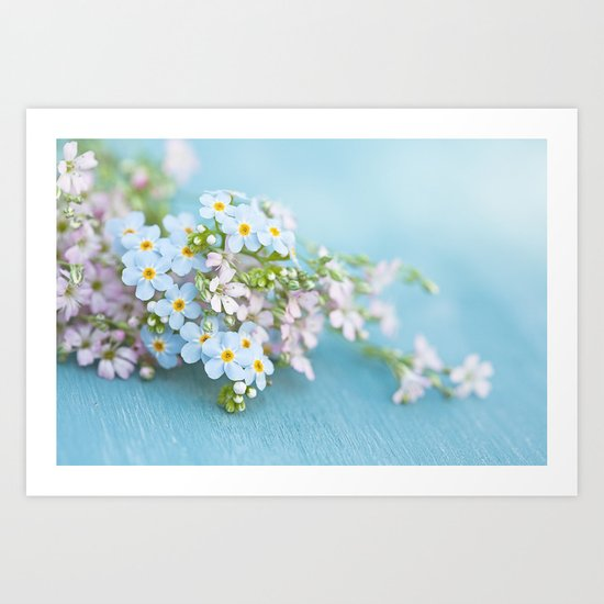Unforgettable prettiness Art Print