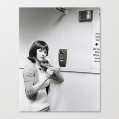 Hold the Phone  Canvas Print
