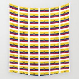 Flag of Ecuador 2- Ecuadorian,Kichwa,Inca,Guayaquil,Quito Wall Tapestry