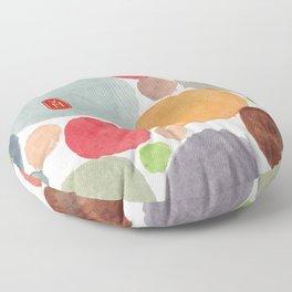 Happy heart Floor Pillow