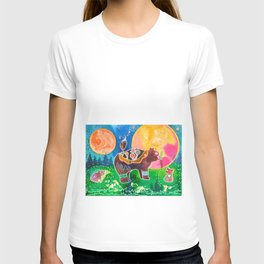 Family bear - animal - by LiliFlore T-shirt