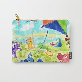 Dinosaur Park Carry-All Pouch