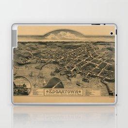 Map Of Marthas Vineyard 1886 Laptop & iPad Skin