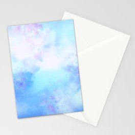 Aesthetic Sky Outer Space Retro Design Stationery Cards