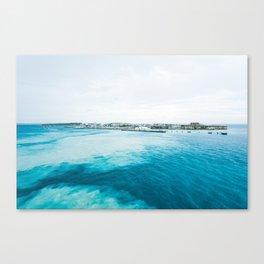 Bermuda Waters Canvas Print