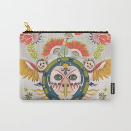 Inca Owl Carry-All Pouch