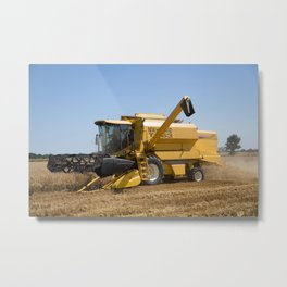 New Holland TX63 Combine Harvester Metal Print