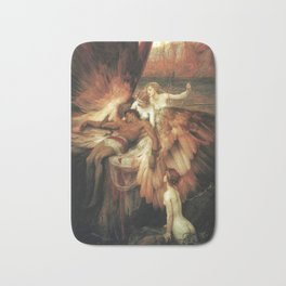 Mourning for Icarus - Draper Herbert James Bath Mat