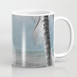 White Coconut Palm Tree Coffee Mug