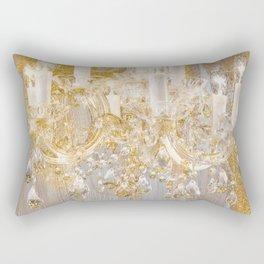 Shabby Glam Chandelier Rectangular Pillow