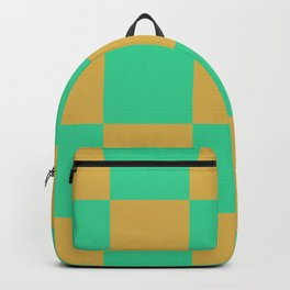 retro chess pattern Madremonte Backpack