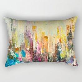 Evening city Rectangular Pillow