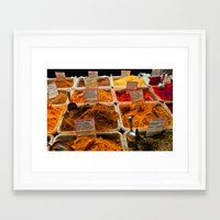 spice Framed Art Prints featuring Spice by Samara