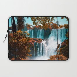Paradise of Waterfalls (Color) Laptop Sleeve