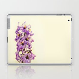 Purple Larkspur Delphinium Flowers Laptop & iPad Skin