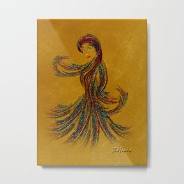 Dance of the Seven Veils Metal Print