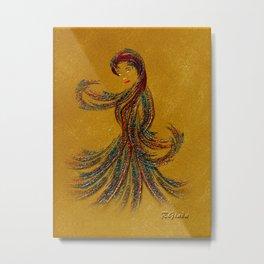 Dance of the Seven Veils Metal Print