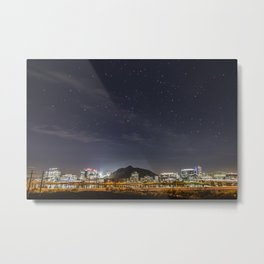 Night Sky Over Tempe Metal Print