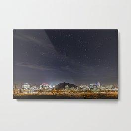 Night Sky Over Tempe Metal Print