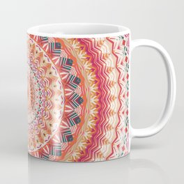 Oriental Sun Mandala Coffee Mug