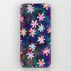 Montauk Daisy - Night iPhone & iPod Skin