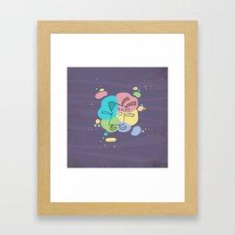 Color Dream Framed Art Print