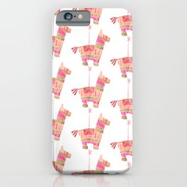 Mexican Donkey Piñata – Pink & Rose Gold Palette iPhone Case