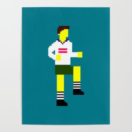 Soccer Mosaic Kit Poster