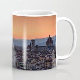 Panorama of Duomo Santa Maria Del Fiore Coffee Mug