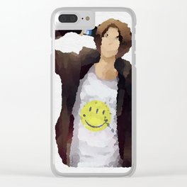 What's on your mind? Clear iPhone Case