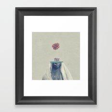 Be a Body Framed Art Print