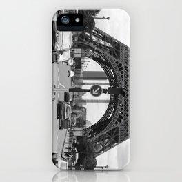 Paris transport iPhone Case