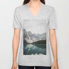 Moraine lake Unisex V-Neck