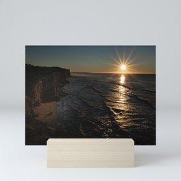 Sunrise in the Shore Mini Art Print