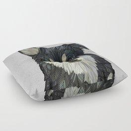 Bjorn - Malamute Samoyed Husky Mix Floor Pillow