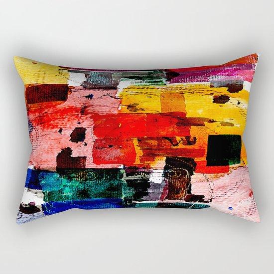 Im Kleingartenverein Rectangular Pillow