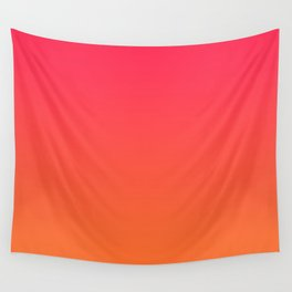 Ombre Candy Apple Wall Tapestry