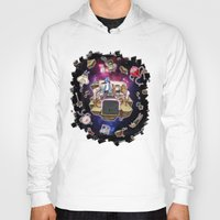 regular show Hoodies featuring Regular Show lost in Universe by CarolaRT