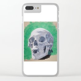 Toothless Skull Clear iPhone Case