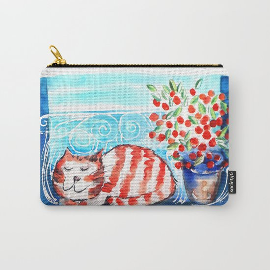 Kitty Siesta Carry-All Pouch