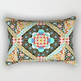 Bricolage Patchwork Quilt Rectangular Pillow