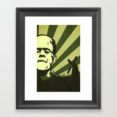 The Frankenstein Monster Framed Art Print