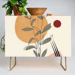 Minimal Line Young Leaves Credenza