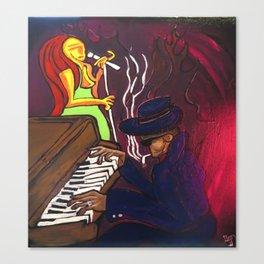 Gumbo night 18 Canvas Print